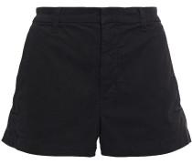 Shorts aus Twill aus Einer Baumwollmischung