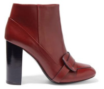 Bond leather ankle boots
