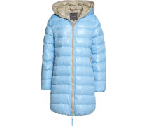 Ace Quilted Shell Down Jacket Himmelblau