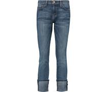 The Beatnik Mid-rise Skinny Jeans Dunkler Denim