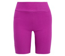 Shorts aus Geripptem Stretch-jersey