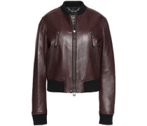 Camila leather bomber jacket