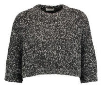 Sequined cashmere and wool-blend sweater