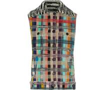 Wool-blend Bouclé Vest Mehrfarbig