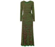 Convertible Ribbed-knit Maxi Dress