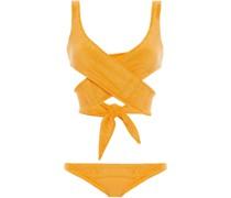 Marie-lousie Bikini aus Frottee aus Einer Baumwollmischung