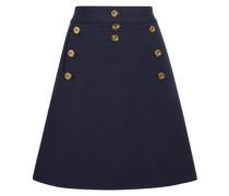 Embellished wool-crepe mini skirt
