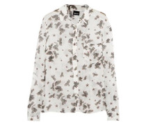 Printed georgette shirt