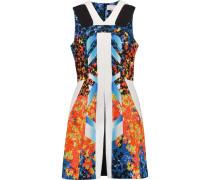 Printed Cotton-blend Cloqué Dress Mehrfarbig