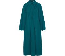 Leonie Crossover Cutout Crepe Midi Dress