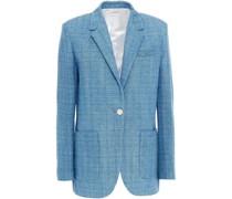Blazer aus Baumwoll-tweed