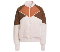 Color-block Quilted Shell Jacket
