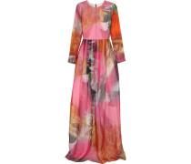 Printed Silk-organza Gown Mehrfarbig