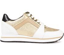 Billie Sneakers aus Strukturiertem Metallic-leder