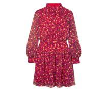 Isabel B Minikleid aus Seiden-georgette mit Print
