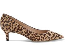Dori Leopard-print Calf Hair Pumps
