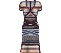 Lavinia striped bandage dress