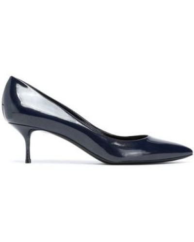 Patent-leather Pumps Navy