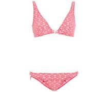 Melissa Seersucker Triangle Bikini
