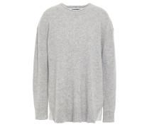 Pullover aus Kaschmir und Jersey
