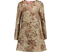 Matelassé mini dress
