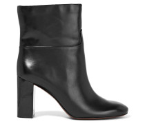 Devon Leather Boots Schwarz