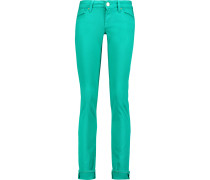 Low-rise Straight-leg Jeans Jade