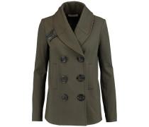 Jersey Jacket Armeegrün