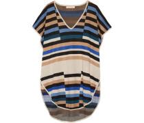 Jacquard-knit Tunic Champignon