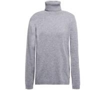 Metallic Striped Cashmere-blend Sweater