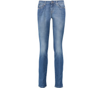 Roxanne Low-rise Slim-leg Jeans Heller Denim
