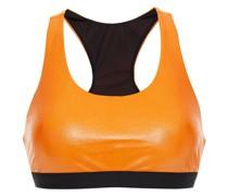 Vasta Infinity Zweifarbiger Sport-bh aus Stretch-material mit Cut-outs