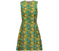 Fil Coupé Satin-twill Mini Dress Mehrfarbig