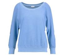 Cutout cotton sweater