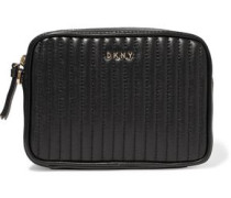 Gansevoort quilted leather clutch