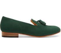 Gaston nubuck loafers