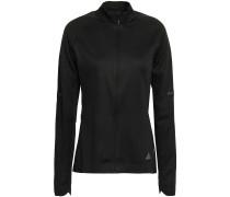 Woman Reflective-trimmed Tech-jersey Track Jacket Black