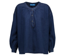 Oldfield Denim Top Dunkler Denim