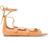 Alisa lace-up leather sandals