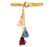 Gold-tone Tassel Bracelet