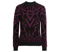 Jani Jacquard-knit Sweater Plaume