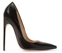 Leather Pumps Schwarz