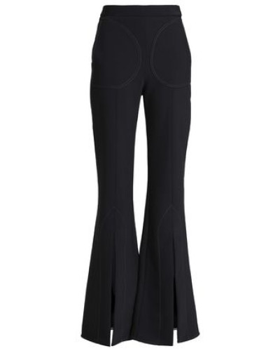 Woven Flared Pants Black Size 12