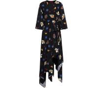 Darline Voile Wrap Dress