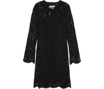Raoule Corded Lace Mini Dress Schwarz