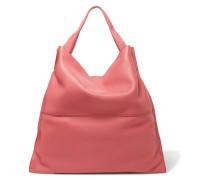 Textured-leather Shoulder Bag Korall