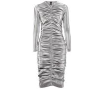 Gerafftes Kleid aus Lurex®