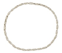 Poplar Rhodium-plated Necklace