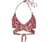 Bali cutout halterneck bikini top