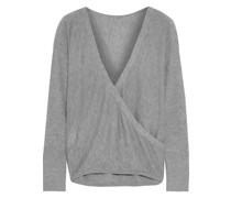 Bedelle Wrap-effect Knitted Sweater